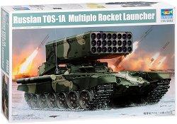Руска тежка огнеметна система - ТОС-1А - Сглобяем модел -