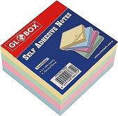 Самозалепващи листчета - Кубче от 400 листчета с размери 7.5 х 7.5 cm