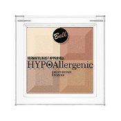 "Bell HypoAllergenic Multi Bronze Powder - Хипоалергенна бронзираща четирицветна пудра от серията ""HypoAllergenic"" - сапун"