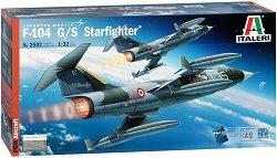 Американски изтребител-бомбардировач - Lockheed F-104 G/S Starfighter - Сглобяем авиомодел - макет