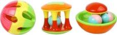 Бебешки активни играчки - Roll around & shakable -