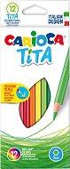 Цветни моливи - Tita - Комплект от 12 цвята - продукт