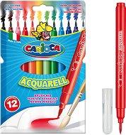 Акварелни флумастери - Комплект от 12 цвята