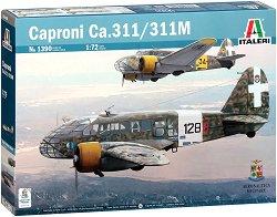 Италиански разузнавателен самолет - Caproni Ca.311 / 311M - Сглобяем авиомодел -
