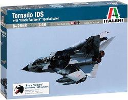 Италиански изтребител - Tornado IDS Black Panthers - Сглобяем авиомодел - макет