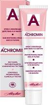 Achromin Skin Whitening Cream - Избелващ крем за лице и тяло с UV филтри - фон дьо тен