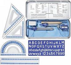 Комплект за чертане - Math Set