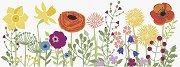 Декоративна самозалепваща лента - Цветя - Ролка с размери 7.6 x 200 cm