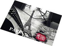 """Папка с копче - Формат A4 и A5 от серията """"Paris"""""""