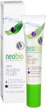 Neobio 24H Eye Fluid - Околоочен флуид с алое вера и акай бери - сапун