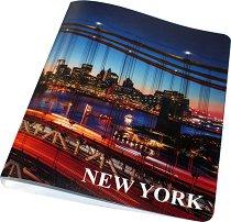 """Класьор - Формат A4 от серията """"New York"""""""
