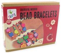 """Направи сама - Гривни с дървени мъниста - Творчески комплект от серията """"Crafts"""" -"""
