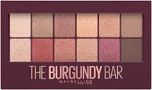 Maybelline Burgundy Bar Palette - Палитра сенки за очи - мокри кърпички