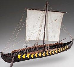 Викингска лодка - Gokstad - Сглобяем модел на кораб от дърво -