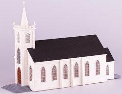 Дървена църква - Света Тереза Авилска - Сглобяем модел -