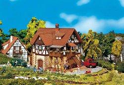 Селска къща на два етажа - Сглобяем модел -