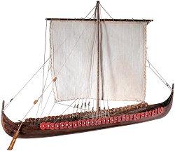 Викингски кораб - Longship - Сглобяем модел на кораб от дърво - макет