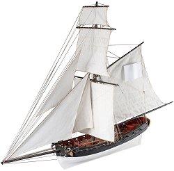 Катер - Le Cerf - Сглобяем модел на кораб от дърво -