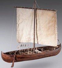 Викингски Кнор - Knarr - Сглобяем модел на кораб от дърво -