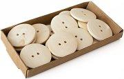 Декоративни дървени копчета