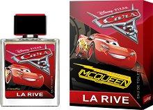 """La Rive Disney Pixar Cars 3 EDT - Детски парфюм от серията """"Колите"""" - продукт"""
