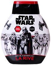 "La Rive Star Wars First Order Bath Gel & Shampoo 2 in 1 - Душ гел и шампоан за мъже 2 в 1 от серията ""Star Wars"" -"