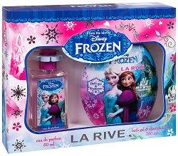 """La Rive Disney Frozen - Детски подаръчен комплект с козметика от серията """"Замръзналото кралство"""" - продукт"""