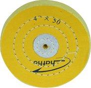 Твърд текстилен полиращ диск - 100 x 15 mm -
