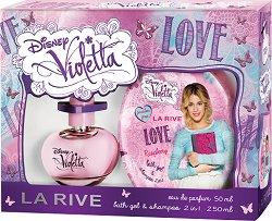 """La Rive Disney Violetta Love - Детски козметичен комплект от серията """"Violetta"""" - продукт"""