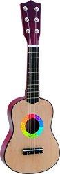 Китара - Дървен детски музикален инструмент - играчка