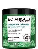 """L'Oreal Botanicals Coriander Strenght Cure Mask - Подсилваща маска за крехка коса с кориандър от серията """"Botanicals - Coriander"""" -"""