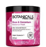 """L'Oreal Botanicals Rose & Geranium Radiance Mask - Маска за боядисана коса с роза и здравец от серията """"Botanicals - Rose & Geranium"""" -"""