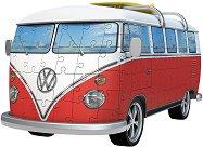 Ретро бус: Volkswagen T1 - 3D пъзел -