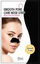 """Chamos Acaci Smooth Pore Care Nose Strip - Почистваща лепенка за нос против черни точки от серията """"Acaci"""" - продукт"""