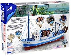 Рибарска лодка - Mare Nostrum - Сглобяем модел от дърво -