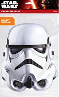 """Маска - Stormtrooper - Парти аксесоар от серията """"Междузвездни войни"""" - играчка"""