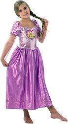 Парти костюм - Рапунцел - кукла