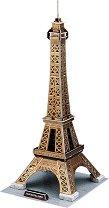 """Айфеловата кула - 3D пъзел от колекцията """"Архитектурни забележителности"""" - пъзел"""