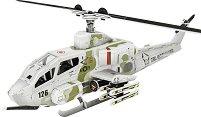 """Боен хеликоптер AH-1 Cobra - 3D пъзел от колекцията """"Бойни машини"""" - пъзел"""