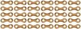 Метални верижни връзки - 30 броя - Резервни части за корабни модели и макети - макет