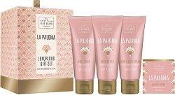 """Scottish Fine Soaps La Paloma Luxurious Gift Set - Луксозен подаръчен комплект с козметика за тяло от серията """"La Paloma"""" - продукт"""