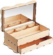 """Кутия за бижута - 3D дървен пъзел от серията """"Art & Wood"""" -"""