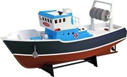 Рибарски кораб - Atlantis - Сглобяем модел от дърво -