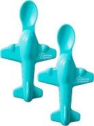 Лъжици за хранене - Самолет - Комплект от 2 броя за бебета над 4 месеца - продукт