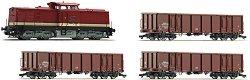 Товарен влак с дизелов локомотив BR 115 - Дигитален стартов комплект -