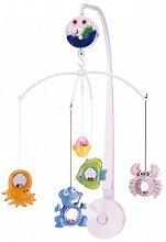 Музикална въртележка - Подводен свят - Играчка за бебешко креватче -