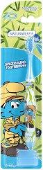 """Детска четка за зъби с меки влакна и капаче - От серията """"Смърфовете"""" - продукт"""