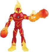 """Heatblast - Фигура с аксесоари от серията """"Ben 10"""" - играчка"""