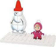 """Снежният човек на Маша - Детски конструктор от серията """"Маша и Мечока"""" -"""