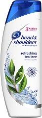 Head & Shoulders Refreshing Tea Tree - Освежаващ шампоан против пърхот с чаено дърво - душ гел
